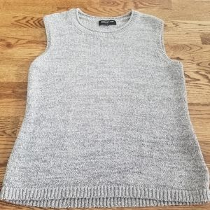 Jones New York Knit Sweater Vest XL